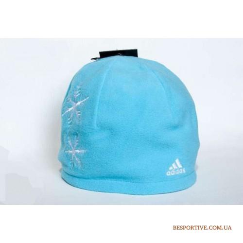 женская флисовая шапка <b>adidas</b>