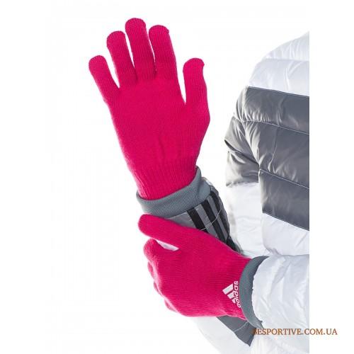 женские перчатки adidas essentials corporate glove