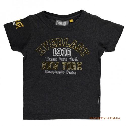 детская фирменная футболка <b>Everlast Bronx</b> оригинал